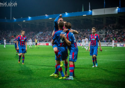 EL: FC Viktoria Plzeň – Beer-Sheva  3:1  (28.9.2017)