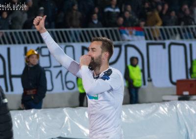 FK Partizan – FC Viktoria Plzeň  1:1  (15.2.2018)