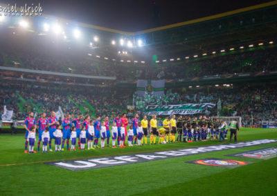 Sporting Lisabon – FC Viktoria Plzeň  2:0  (8.3.2018)