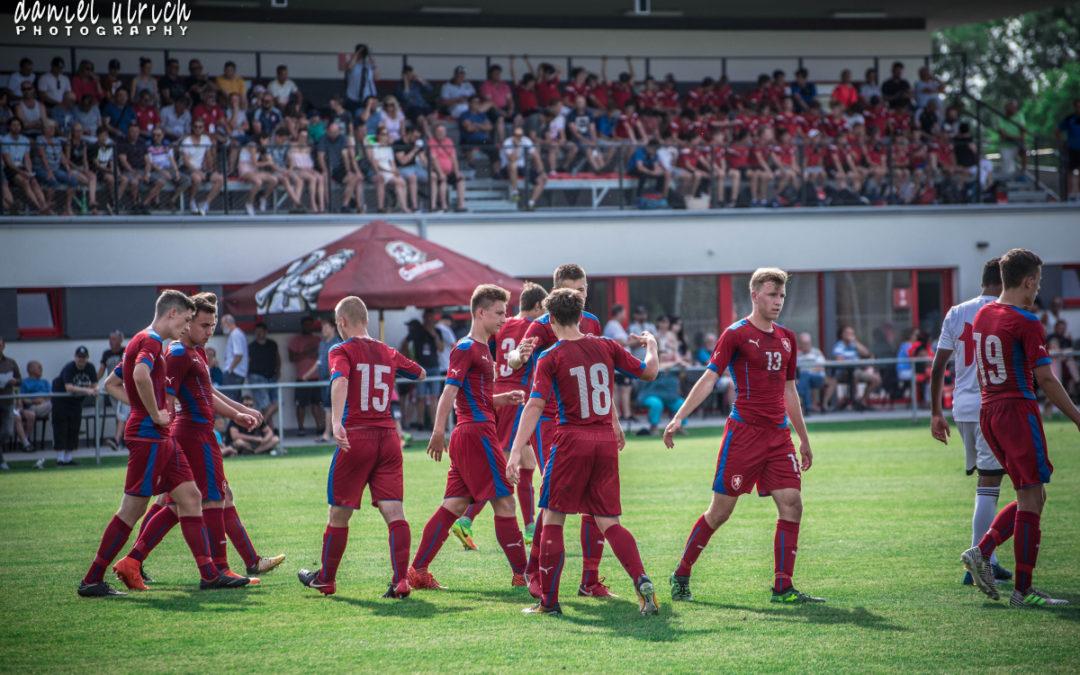 U16 ČR – Bělorusko  4:0  (7.6.2018)
