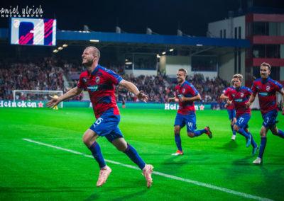 LM: FC Viktoria Plzeň – CSKA Moskva  2:2  (19.9.2018)