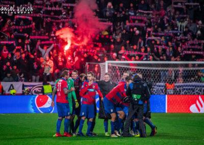 LM: FC Viktoria Plzeň – AS Řím  2:1  (12.12.2018)